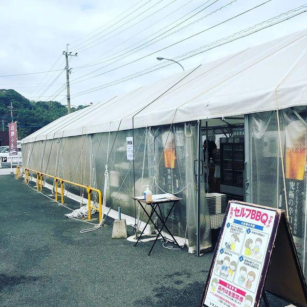 2019年11月、カキ小屋シマノカキシンエイマルが元気にスタート