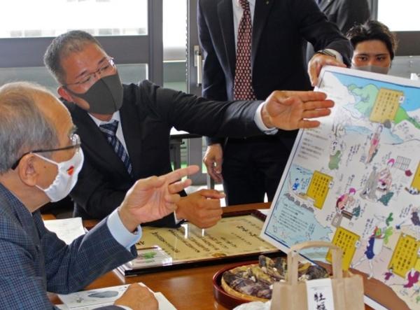大分県代表が「漁業者の甲子園」で大臣賞 2021.04.05 大分合同新聞